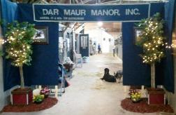 decorations at Syracuse International Horse Show
